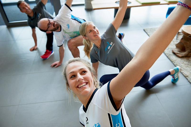 YEAH!Sport Firmenfitness durch Bewegungspausen am Arbeitsplatz