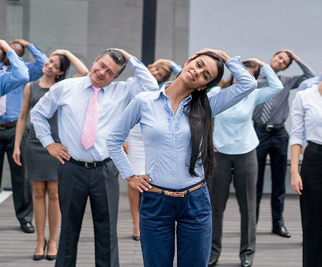 Firmenfitness macht Spaß und bringt Erfolg