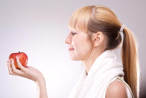 Personal Training beinhaltet auch Ernährungsbetreuung