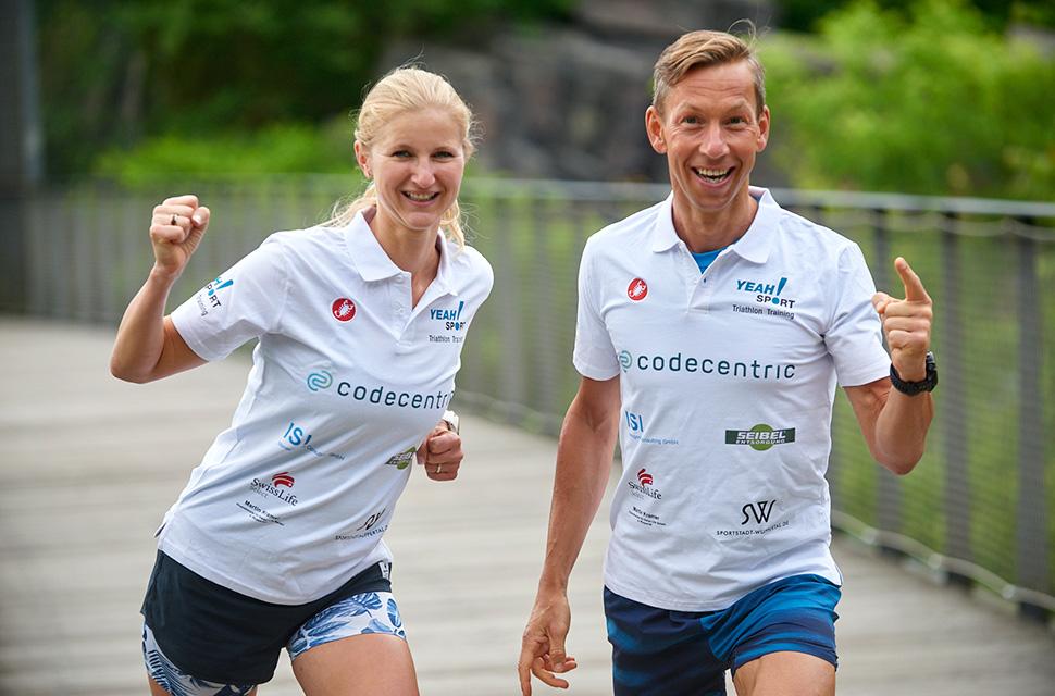 Melanie Lüdorf und Stavro Petri, YEAH!SPORT Personal und Triathlon Training Wuppertal
