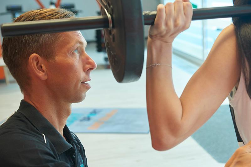 Beim Athletiktraining sind die korrekten Bewegungsabläufe ausschlaggebend