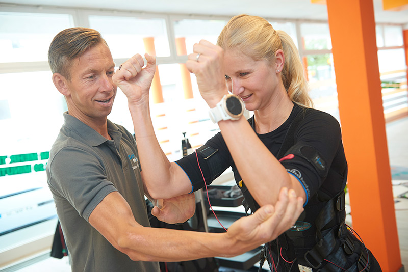 EMS Training bei YEAH!Sport Personal und Triathlon Training