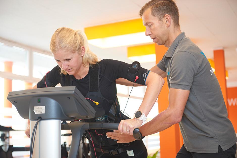 EMS Training bei YEAH!Sport