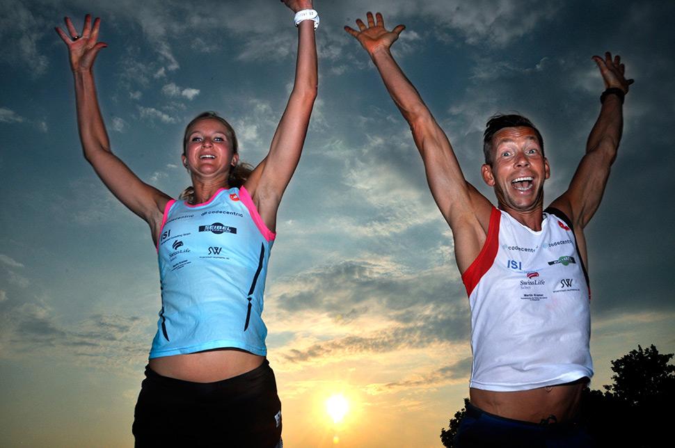 YEAH!SPORT Personal Trainer Melanie Lüdorf und Stavro Petri