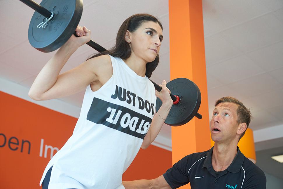 Triathlon Training beinhaltet auch sportartspezifisches Athletiktraining