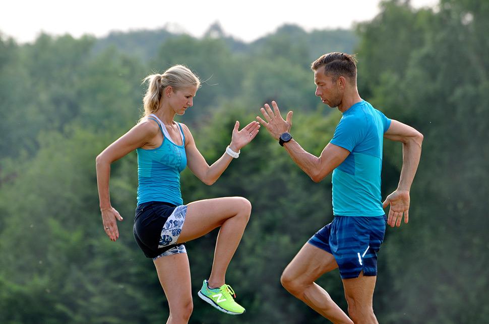 Sportartspezifisches Athletiktraining ist Bestandteil der Triathlonvorbereitung