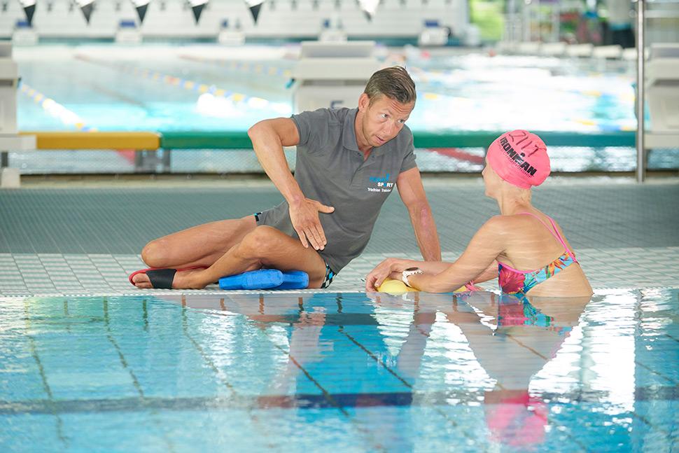 Wir bieten im Rahmen des Triathlon Training Seminare an