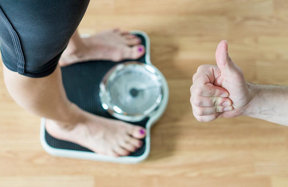 Gewichtsreduktion durch Training und Ernährungsumstellung