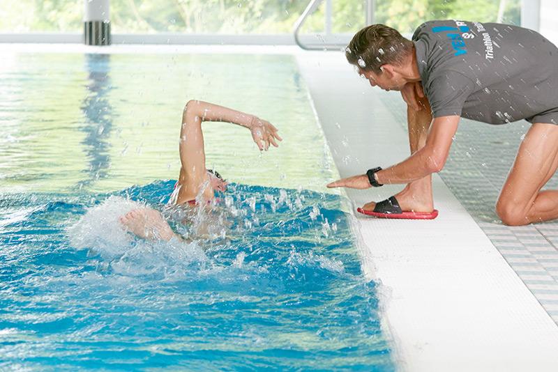 YEAH!Sport Schwimmstilanalyse beim Triathlontraining